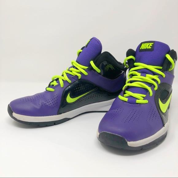 moderadamente cubrir más  Nike Shoes | Nike Purple And Neon | Poshmark